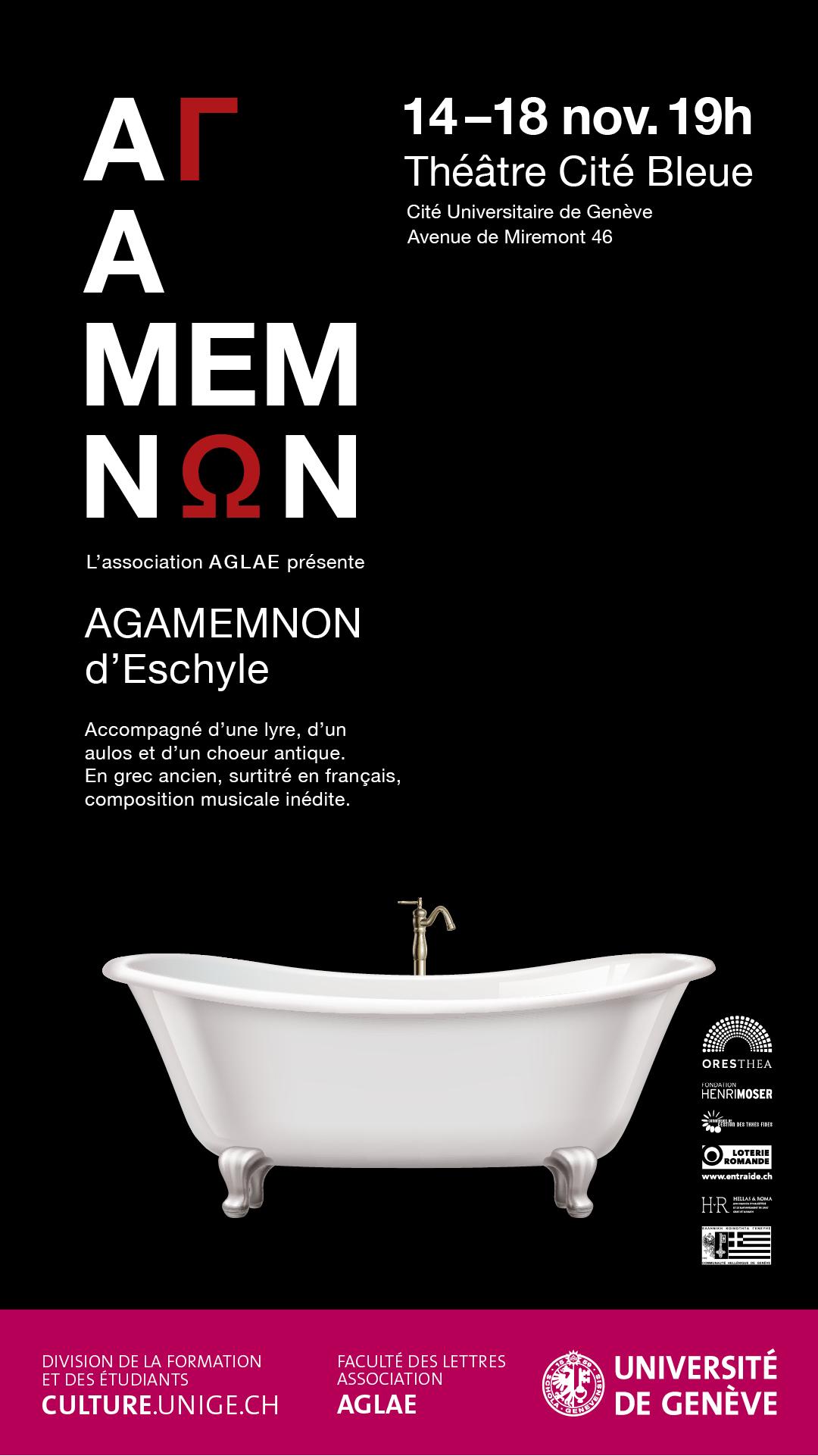 Affiche numérique_ Agamemnon